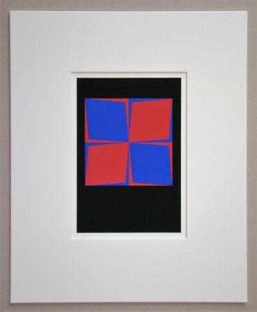 Siebdruck Vasarely - Lozan, 1964