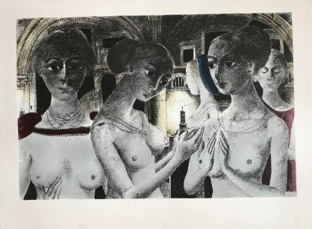 Siebdruck Delvaux - Ls Gothiques