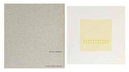 Siebdruck Calderara - Luce spazio immagine (Cartella di 8 serigrafie)