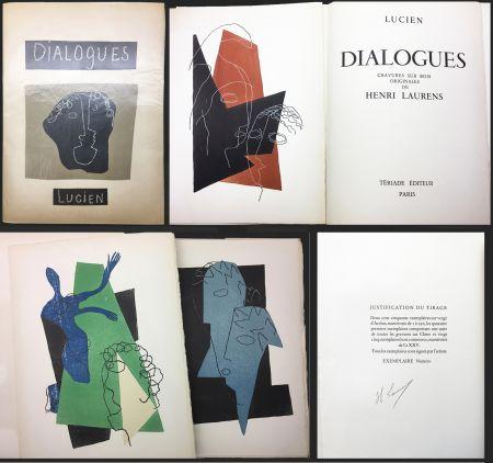 Illustriertes Buch Laurens - Lucien de Samosate - DIALOGUES. 32 bois gravés en couleurs (Tériade 1951).