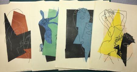 Illustriertes Buch Laurens - Lucien de Samosate - DIALOGUES (Tériade 1951)