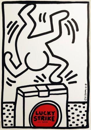 Offset Haring - Lucky Strike (White)