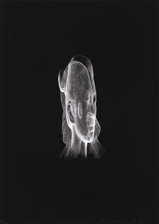 Digitale Druckgrafik Plensa - Lumière invisible Rui Rui