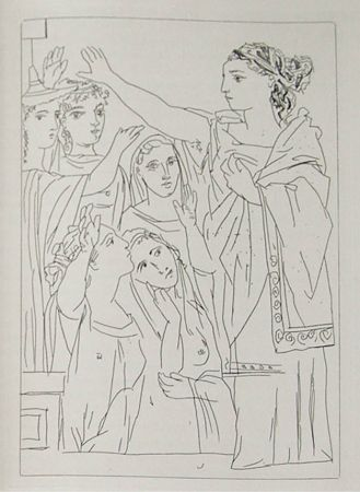 Stich Picasso - Lysistrata By Aristophanes (Signed Book)
