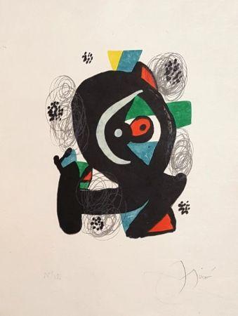 Lithographie Miró - Mélodie Acide
