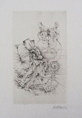 Radierung Und Aquatinta Bellmer - Métamorphose (Papillon)