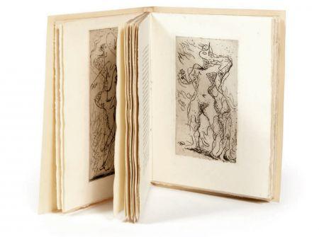 Illustriertes Buch Masson - M. Jouhandeau : XIMENÈS MALINJOUDE. Illustré d'eaux-fortes par André Masson (1927).