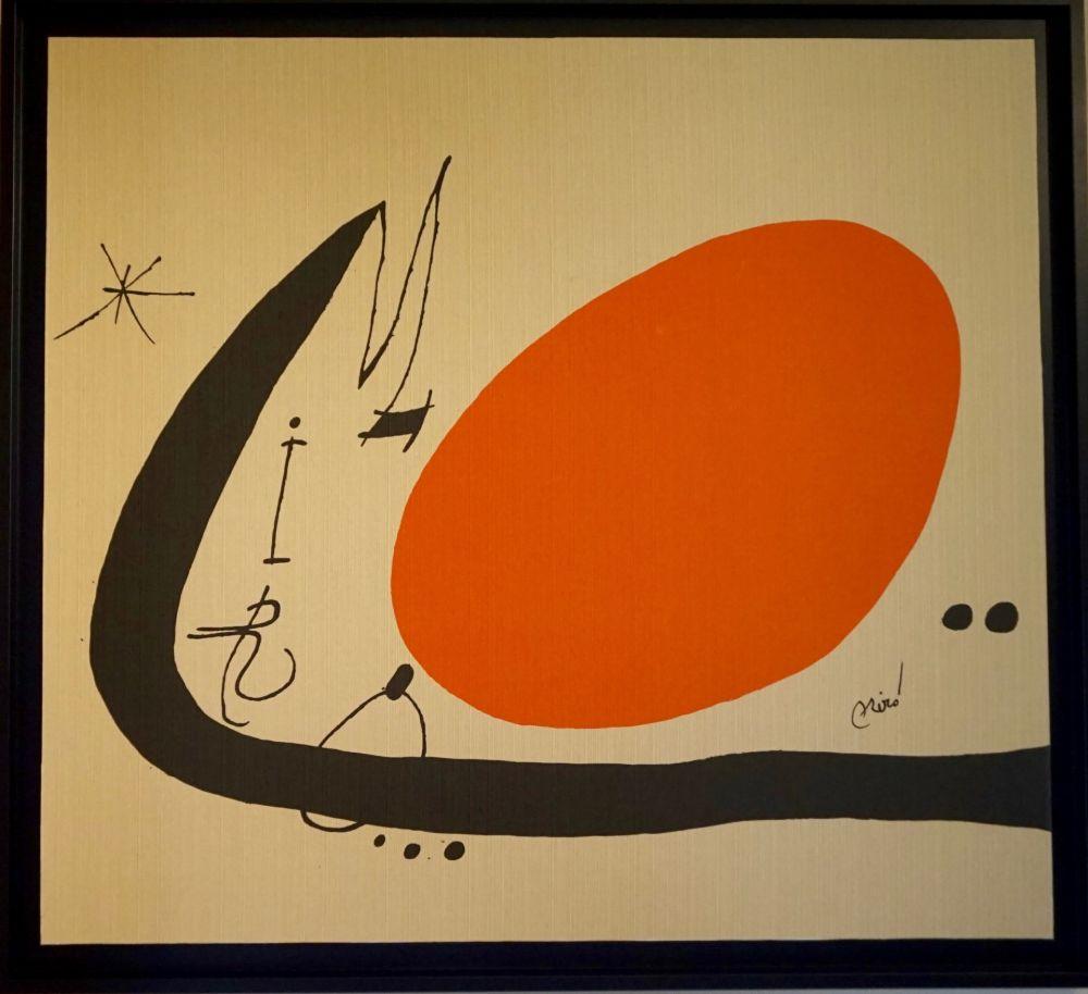 Lithographie Miró - Ma de Proverbis