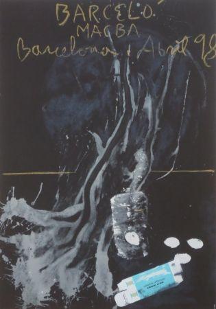 Lithographie Barcelo - MacBa 98