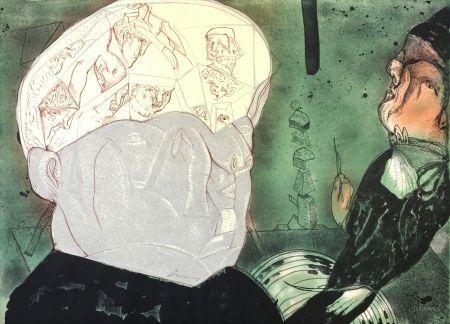 Lithographie Cuevas - Macbeth
