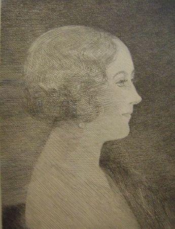 Stich Marcoussis - Madame Marcel M. Markous