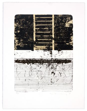Lithographie Denning - Madrid III