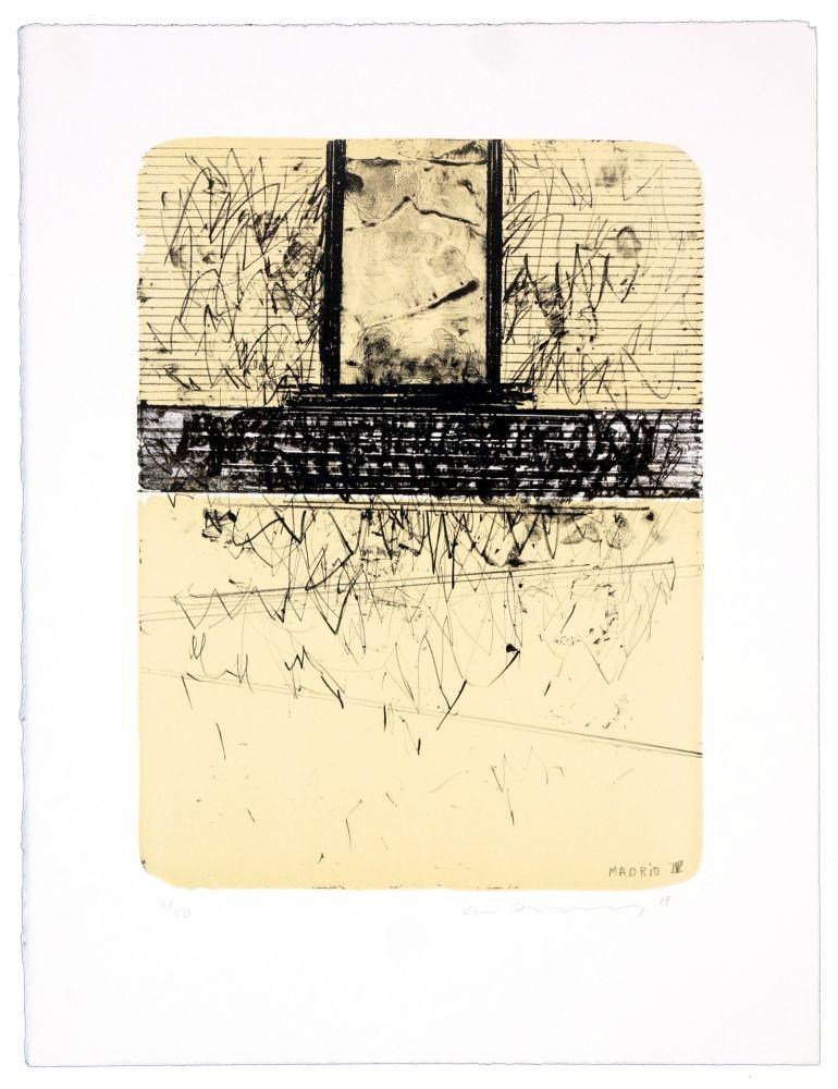Lithographie Denning - Madrid IV