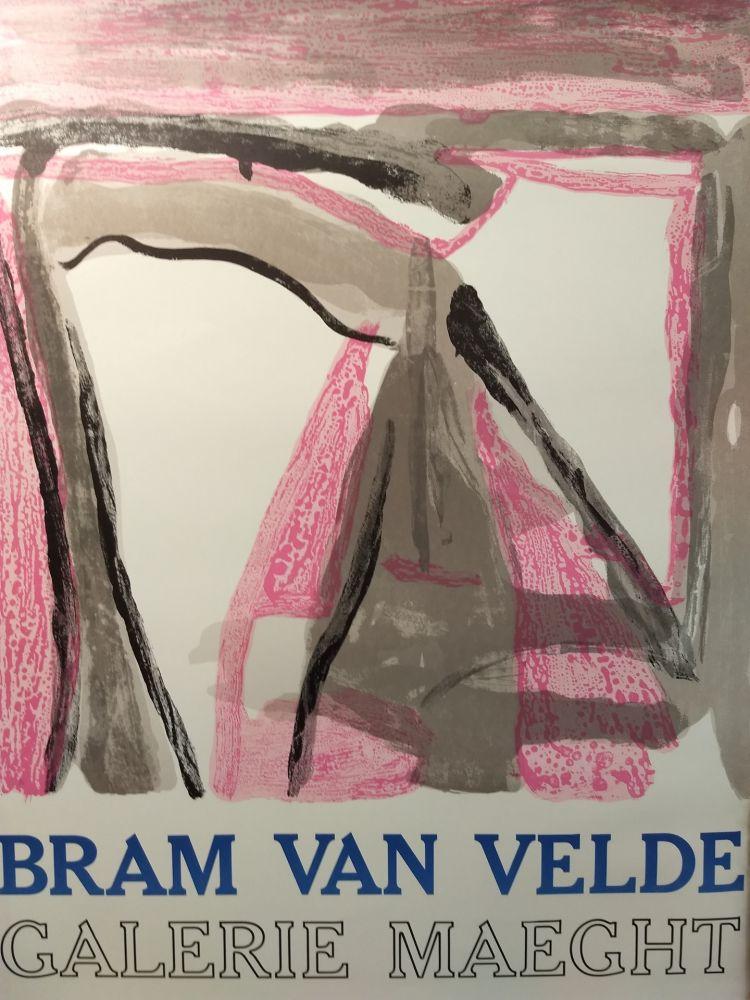Plakat Van Velde - Maeght
