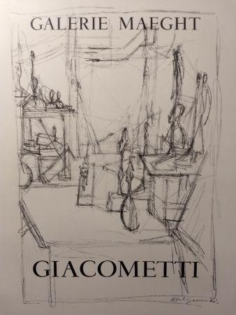 Plakat Giacometti - Maeght