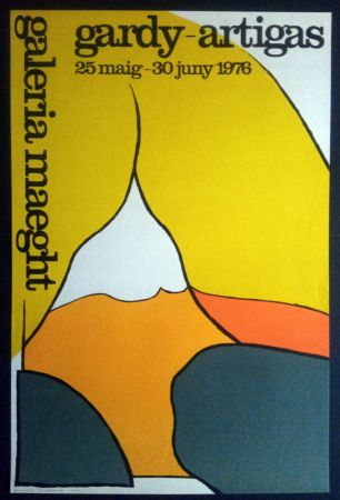 Plakat Artigas - Maeght 25 Maig 30 Juny 1976