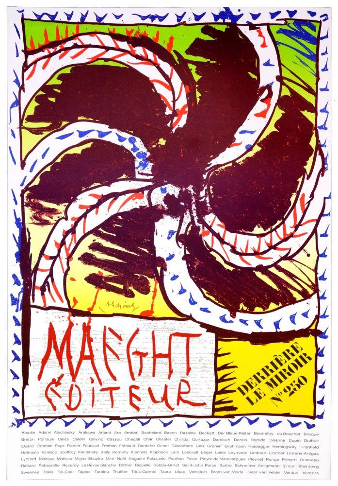 Plakat Alechinsky - Maeght Editeur, 1982