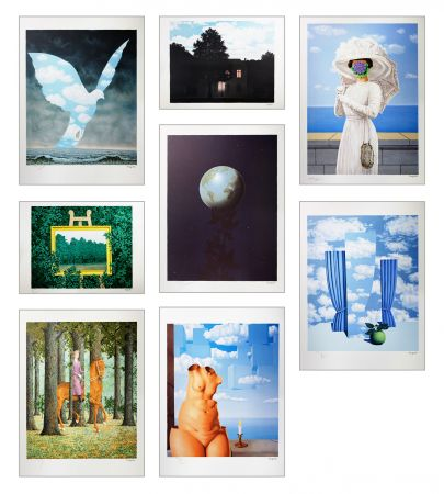 Lithographie Magritte - Magritte Lithographies I
