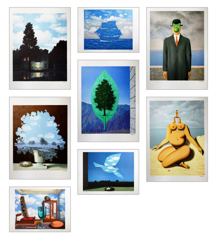 Lithographie Magritte - Magritte Lithographies II