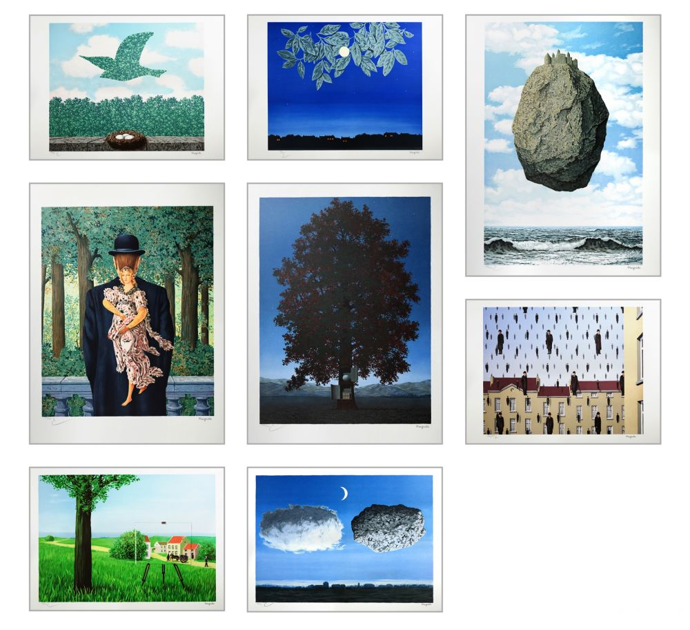Lithographie Magritte - Magritte Lithographies III