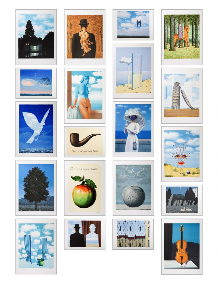 Lithographie Magritte - Magritte Lithographies IV