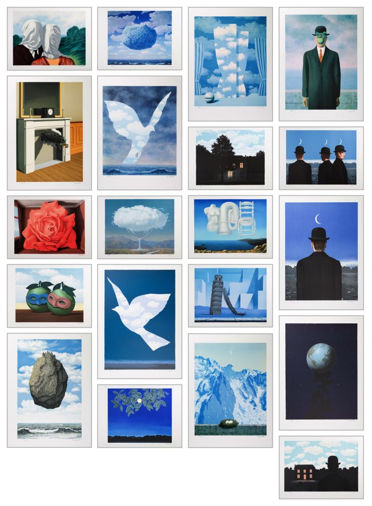 Lithographie Magritte - Magritte Lithographies V