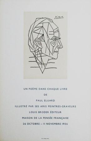 Plakat Picasso - '' Maison de la Pensée Francaise ''