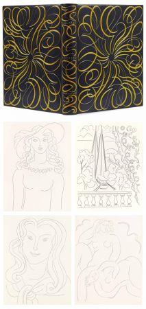 Illustriertes Buch Matisse - MALLARMÉ. POÉSIES. Eaux-fortes originales de Henri Matisse (1932). Reliure de Paul Bonet.