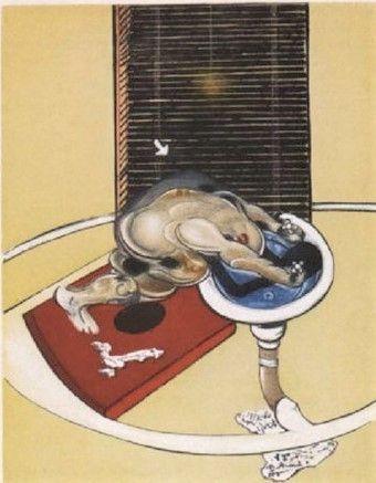 Radierung Und Aquatinta Bacon - Man At The Washbasin