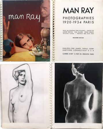Illustriertes Buch Ray - MAN RAY PHOTOGRAPHIES 1920-1934.