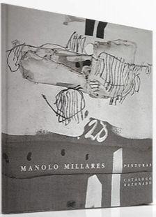 Illustriertes Buch Millares - Manolo Millares Catalogo Razonado