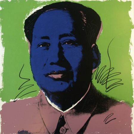 Siebdruck Warhol (After) - Mao