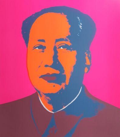 Siebdruck Warhol (After) - Mao
