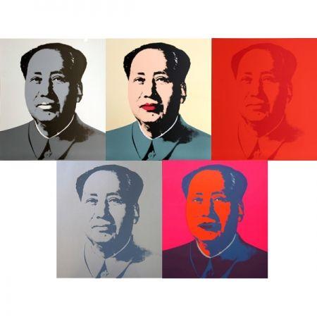 Siebdruck Warhol (After) - Mao - Portfolio