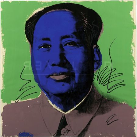 Siebdruck Warhol - Mao (Fs Ii.90)