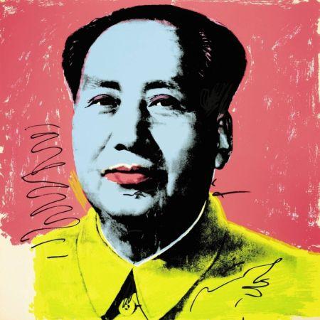 Siebdruck Warhol - Mao (FS II.91)