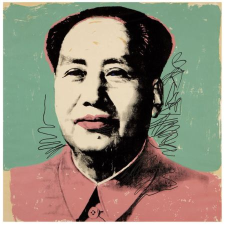 Siebdruck Warhol - Mao (FS II.95)