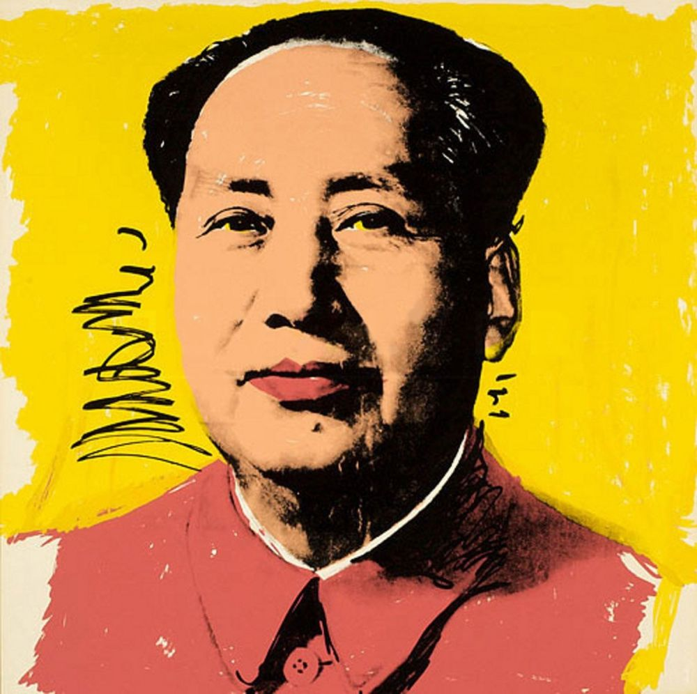 Siebdruck Warhol - Mao (FS II.97)