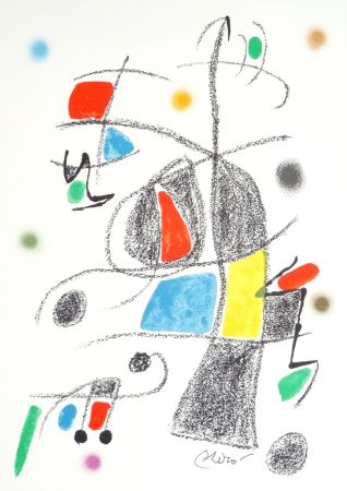 Lithographie Miró - Maravillas