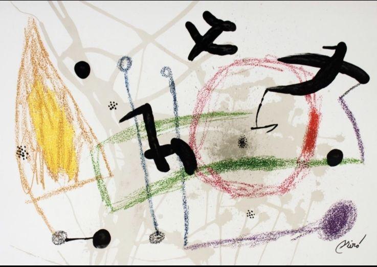 Lithographie Miró - Maravillas con variaciones 5