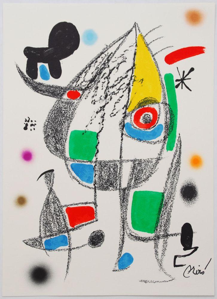 Lithographie Miró - Maravillas Con Variaciones Acrósticas En El Jardín De Miró