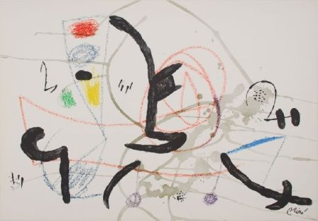 Lithographie Miró - Maravillas con variaciones acrosticas 11