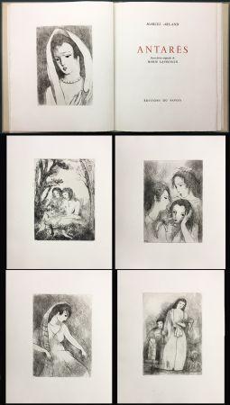 Illustriertes Buch Laurencin - Marcel Arland : ANTARES. Exemplaire avec suite (1944).