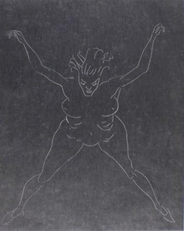 Radierung Und Aquatinta Ray - Marguerite