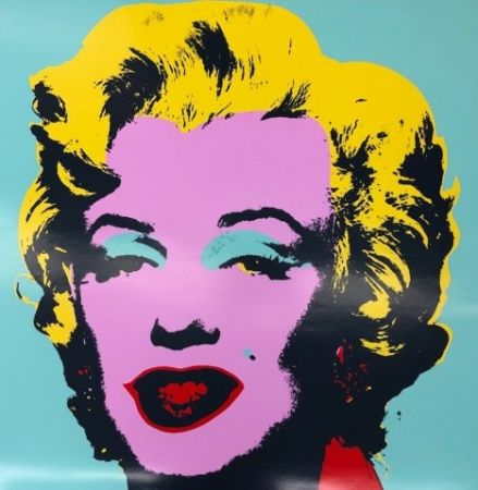 Siebdruck Warhol - Marily VII