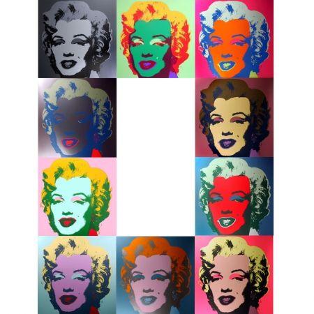 Siebdruck Warhol (After) - Marilyn - Portfolio