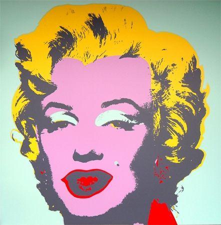Siebdruck Warhol (After) - Marilyn 11.23