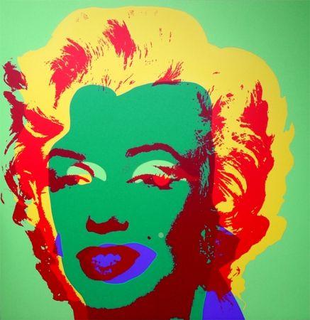 Siebdruck Warhol (After) - Marilyn 11.25
