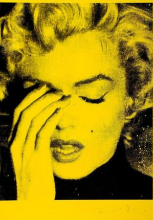 Multiple Young - Marilyn Crying (Mulholland Yellow)