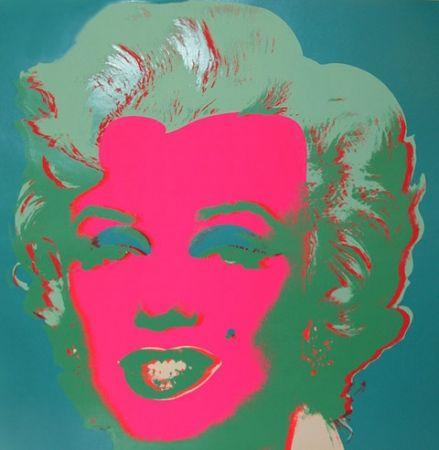 Lithographie Warhol - Marilyn FS II.30